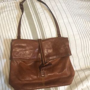 Dooney & Bourke Cognac Leather Purse